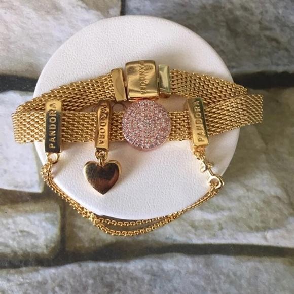 0c2620f6c1cfe Pandora Reflexions charm bracelet 925